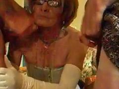 Shemales facials, Shemale facial, Mature shemales, Mature shemale, Mature glasses, Glasses facial