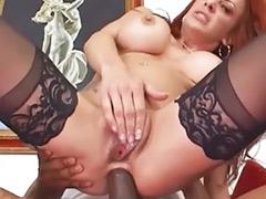 Redhead mom, Redhead milf big tits, Redhead big cock, Redhead anal toying, Sex big mom, Milf mom sex
