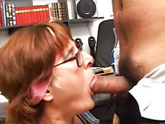 Mature deepthroat, Mature boss, Mature office, Office matures, Boss fucking, Anal boss